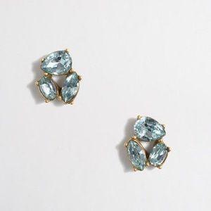 JCrew Crystal Trio Earrings
